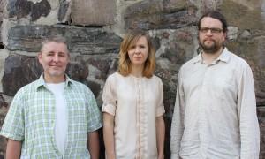 Fredrik, Julia, Johan