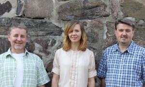 Fredrik Holmberg, Julia Bertilsson, Johan Holmberg,