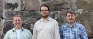 Fredrik Holmberg, Mikael Kowalski, Johan Holmberg
